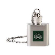 Breckenridge Forest Flask Necklace