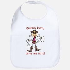 Drive Me Nuts Bib