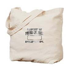 Property of Presa Canario Tote Bag