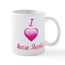 I Love/Heart Nurse Sharks Mug