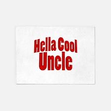 Hella Cool Uncle 5'x7'Area Rug