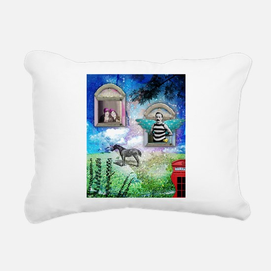 Wish You Were Here Rectangular Canvas Pillow