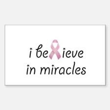 i believe in miracles Decal