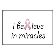 i believe in miracles Banner