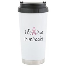 i believe in miracles Ceramic Travel Mug