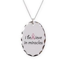 i believe in miracles Necklace