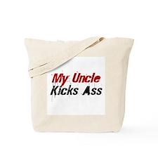 My Uncle Kicks Ass Tote Bag