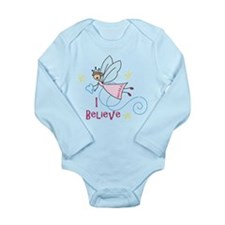 I Believe Long Sleeve Infant Bodysuit