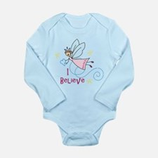 I Believe Long Sleeve Infant Bodysuit