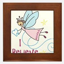 I Believe Framed Tile
