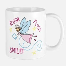 Brush Floss Smile Mug