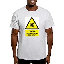 Laser Beams! Ash Grey T-Shirt