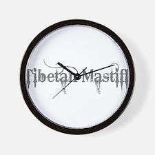 Tibetan Mastiff Wall Clock