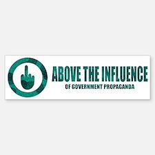 ABOVE THE INFLUENCE - Bumper Bumper Bumper Sticker