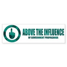 ABOVE THE INFLUENCE - Bumper Bumper Sticker