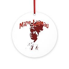 Marie Laveau Ornament (Round)