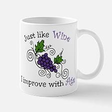 Wine Grape Vines Mug