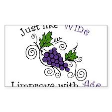 Wine Grape Vines Decal