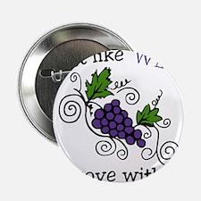 """Wine Grape Vines 2.25"""" Button"""