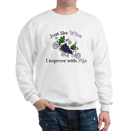 Wine Grape Vines Sweatshirt
