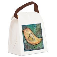 Summer Bird Canvas Lunch Bag