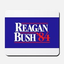 Reagan Bush 84 Mousepad