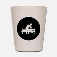 Acupuncture Shot Glass