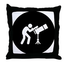 Astronomy Throw Pillow
