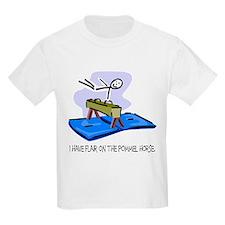 Pommel Horse Stick Figure Kids T-Shirt