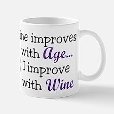 Wine Improves With Age Mug