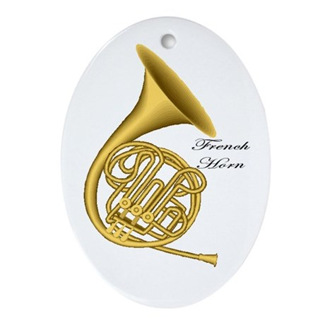 French Horn Christmas Tree Ornament