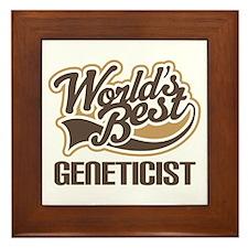 Geneticist Framed Tile