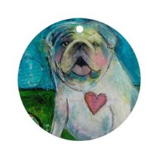 LoveABull Ornament (Round)