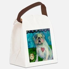 LoveABull Canvas Lunch Bag