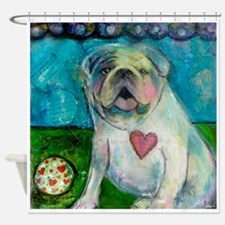 LoveABull Shower Curtain