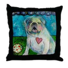 LoveABull Throw Pillow