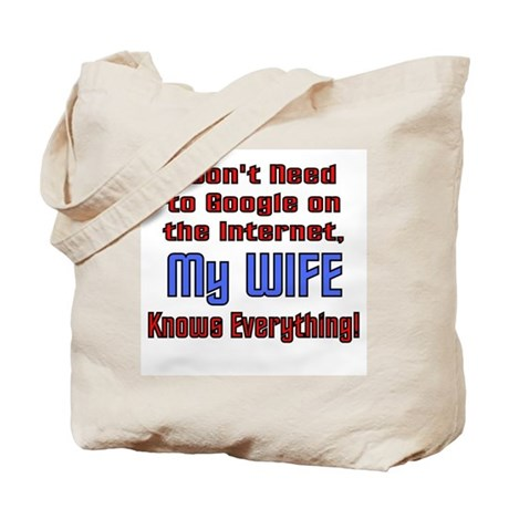 My Wife Knows Everything Tote Bag