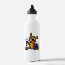 Wine Teddy Bear Water Bottle