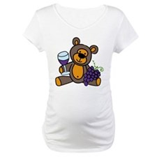 Wine Teddy Bear Shirt