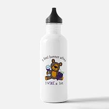 I Wine A Bit Water Bottle