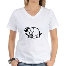 Goofy St. Bernard Dog Shirt