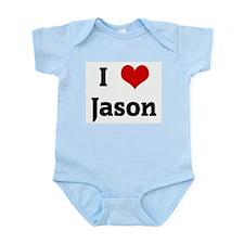 I Love Jason Infant Creeper