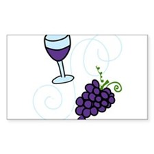 Wine Glass Decal