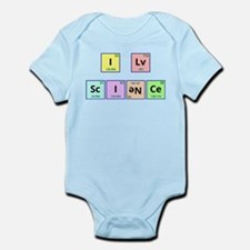 I Love Science Infant Bodysuit