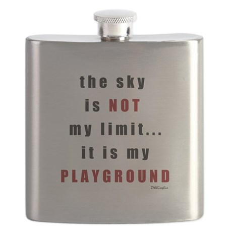 The Sky Is Not My Limit Flask