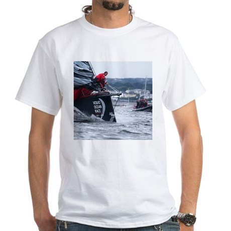 volvo ocean race white t shirt volvo ocean race shirt. Black Bedroom Furniture Sets. Home Design Ideas