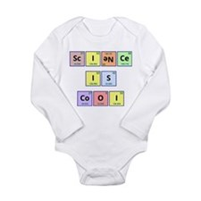 Science is Cool Long Sleeve Infant Bodysuit