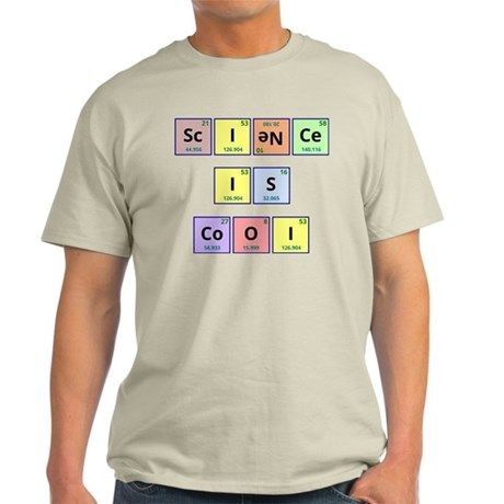 Science is Cool Light T-Shirt