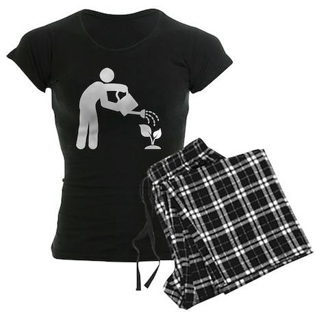 Gardening Women's Dark Pajamas