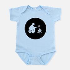 Marshmallow Burning Infant Bodysuit